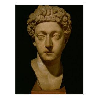 Buste d'empereur Commodus Carte Postale