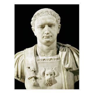 Buste d'empereur Domitian Cartes Postales