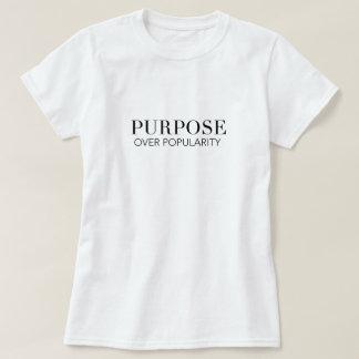 But au-dessus de T-shirt de popularité