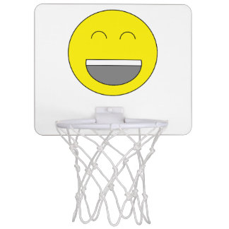 But de basket-ball d'Emoji Mini-panier De Basket