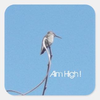 But de colibri haut ! Autocollant !