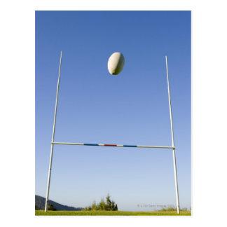 But de rugby carte postale
