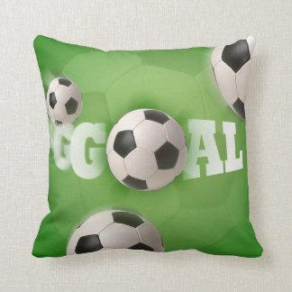 But du football de ballon de football - coussin