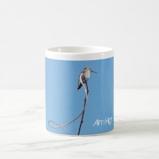 But haut ! Tasse d'encouragement de colibri