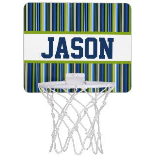 But personnalisé de Mini-Basket-ball de rayure Mini-panier De Basket