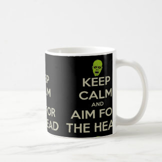 But pour la tête mug blanc
