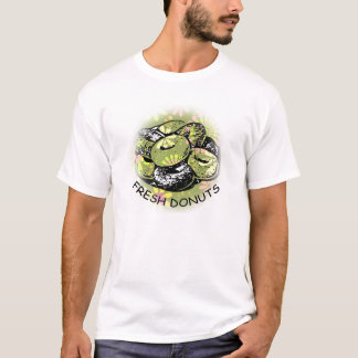 Butées toriques fraîches t-shirt