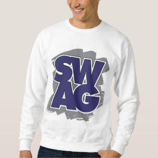 BUTIN - bleu et gris Sweatshirt