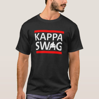 Butin de Kappa (noir) T-shirt