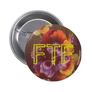 Butin de pensée de FTF pour votre Geocache Badge