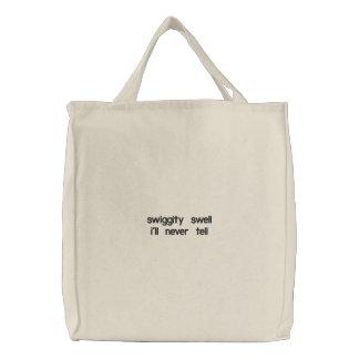 butin de swiggity sacs de toile