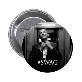 Butin d'Obama Badge Rond 5 Cm