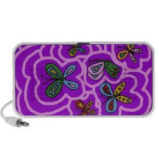 butterflies haut-parleur portable