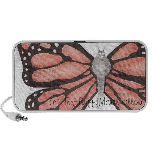 Butterfly design haut-parleur iPhone