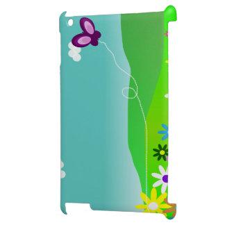 Butterfly & Flowers Étuis iPad
