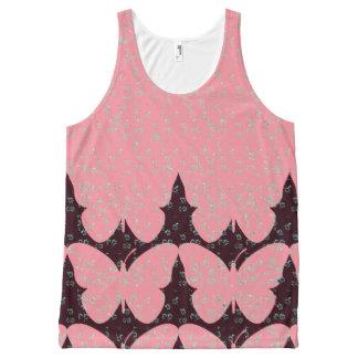 Butterfly-Love-Nature-Women's-Tops_Multi-Sizes Débardeur Tout-imprimé