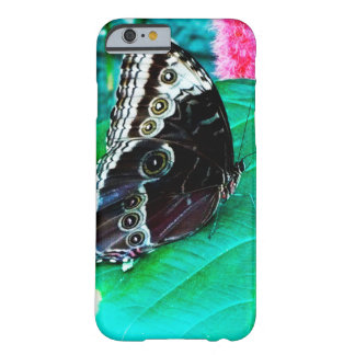 Butterfly on leaf coque iPhone 6 barely there