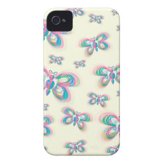 Butterfly_pattern Coque iPhone 4