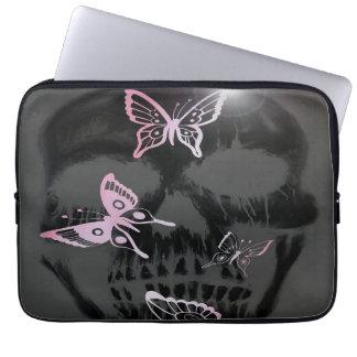 Butterflys de crâne housses pour ordinateur portable