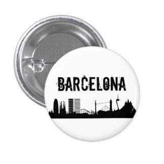 Button Barcelone/Plaque Barcelone Badges