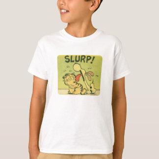 Buvez bruyamment ! Odie, la chemise de l'enfant T-shirt