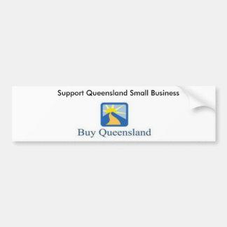 buyqld170x81, entreprise du Queensland de soutien  Autocollant Pour Voiture