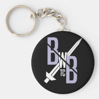 BWBTC sur l'aller ! Porte-clé Rond