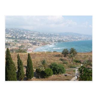 Byblos Liban Carte Postale