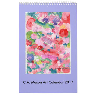C.A. Calendrier des beaux-arts 2017 de maçon