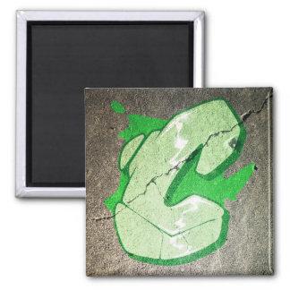 C - Aimant de lettre de graffiti