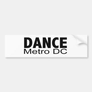 C.C de métro de danse - adhésif pour pare-chocs Autocollant De Voiture