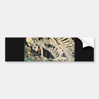 C. de peinture japonais 1800's autocollant pour voiture