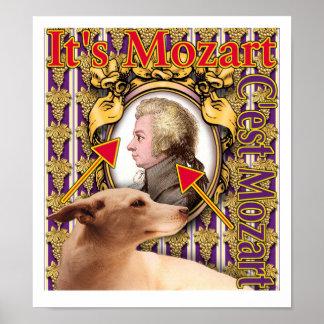 C est Mozart Posters