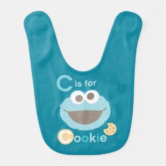 C est pour le bébé de biscuit bavoirs pour bébé