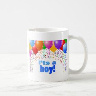 C est un garçon tasse