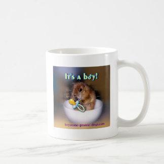 C est un garçon tasse à café