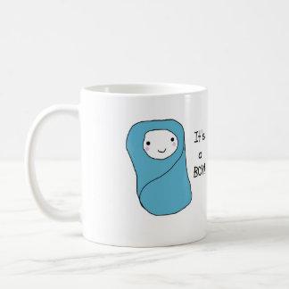 C est un nouveau faire-part de naissance de bébé d mugs