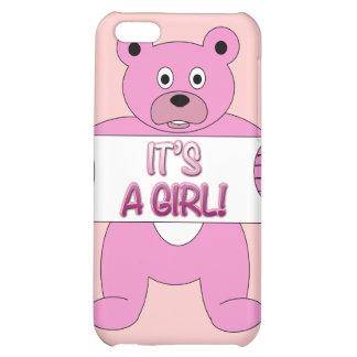 C est un ours de rose de fille