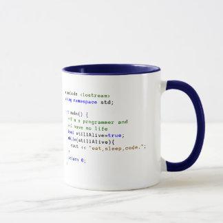 C++ La boucle infinie mangent, dorment, et codent Mug