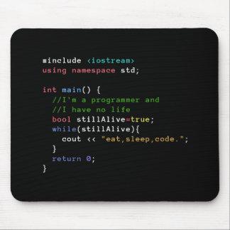 C++ La boucle infinie mangent le code Mousepad de Tapis De Souris