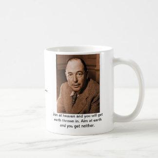 C.S. Lewis : Visez le ciel Mug