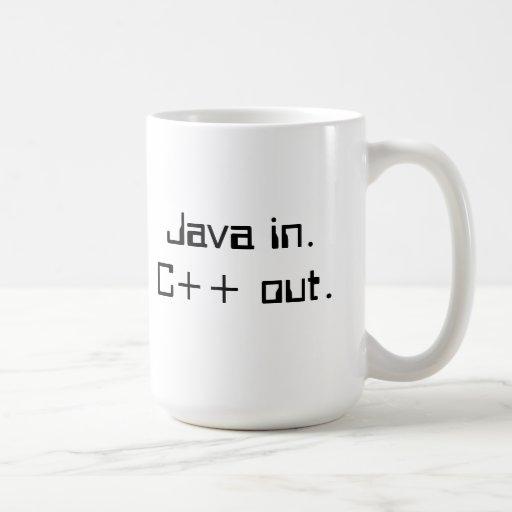 C++ Tasse de café du programmeur
