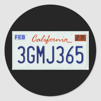 CA95 STICKER ROND