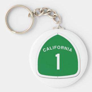 CA 1 porte - clé Porte-clé Rond