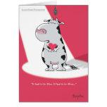 C'A DÛ ÊTRE des Valentines de MOO par Boynton Carte De Vœux