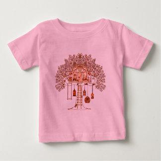 Cabane dans un arbre t-shirt pour bébé