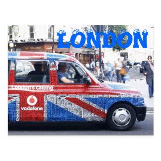 Cabine de Londres Carte Postale