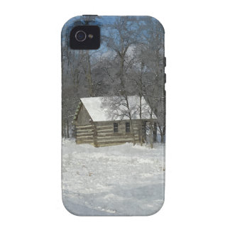 Cabine d'hiver personnalisable coques vibe iPhone 4