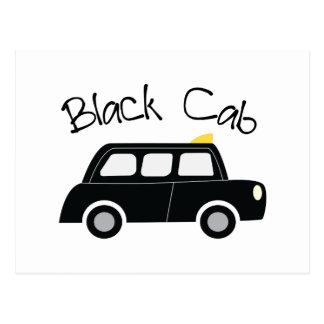 Cabine noire carte postale