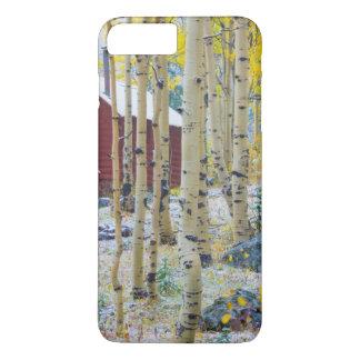 Cabine solitaire grand de MESA dans une forêt Coque iPhone 8 Plus/7 Plus